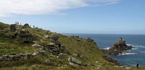 walking holidays Land's end cornwall